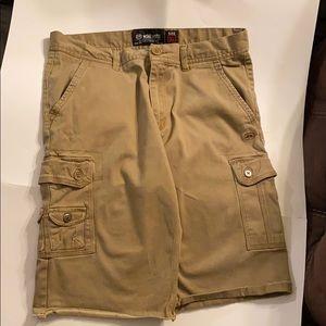 Ecko unltd Khaki shorts ( size 32)
